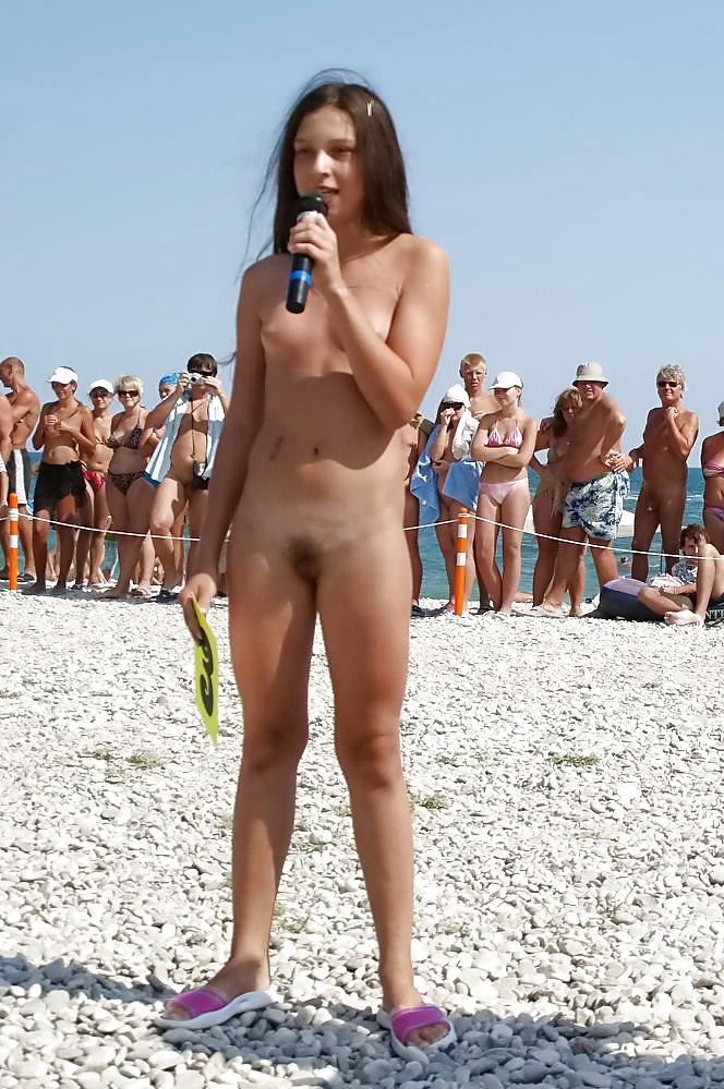 Nudist girl interview