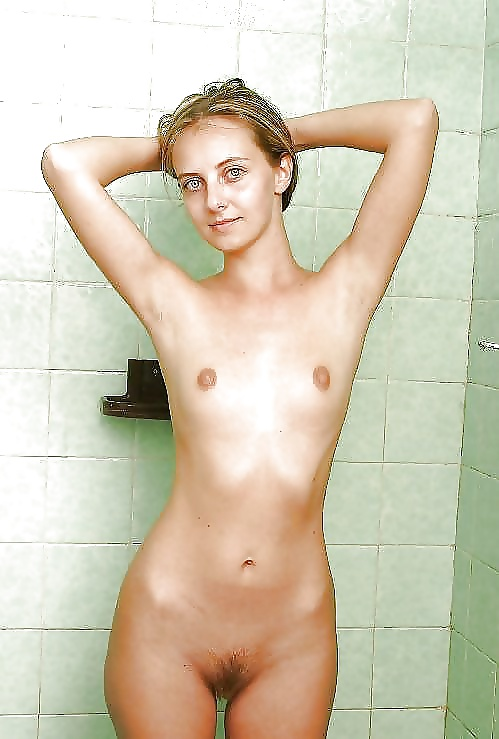 Horny Skinny Blonde Teen